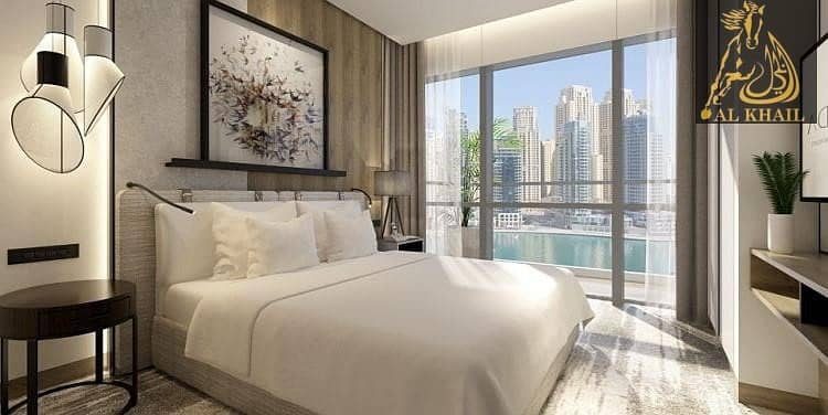 2 Stunning View Of The Dubai Marina With 1 Bedroom