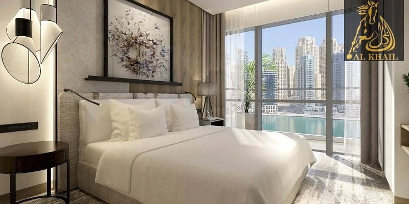 18 Stunning View Of The Dubai Marina With 1 Bedroom