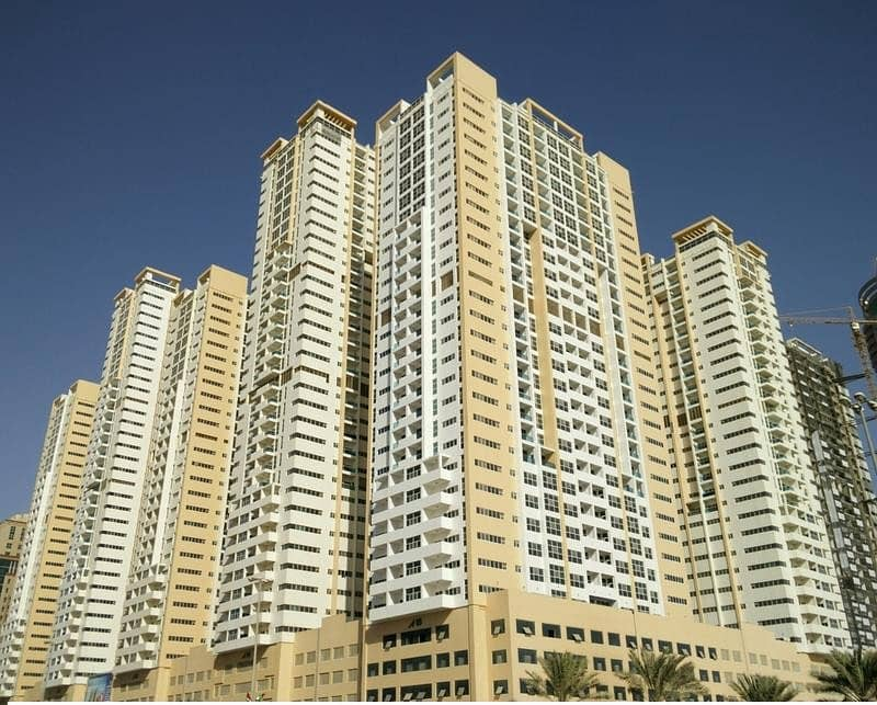 Big Studio For Rent in AJMAN ONE TOWERS 17000