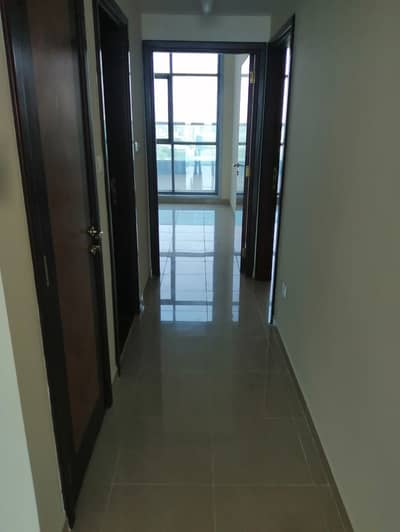 2 Bedroom Apartment for Rent in Corniche Ajman, Ajman - 2 bhk sea view and city view with parking open kitchen