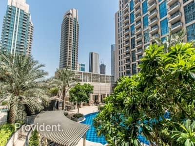 1 Bedroom Flat for Sale in Downtown Dubai, Dubai - Best Deal |Burj Khalifa and Pool View|Fully Furnished