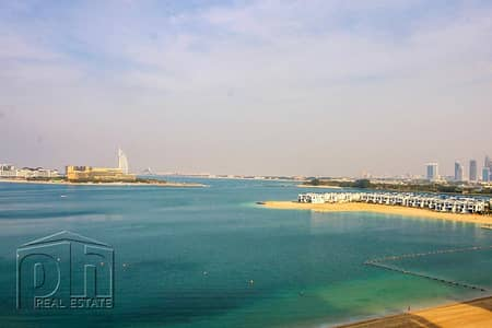 2 Bedroom Flat for Rent in Palm Jumeirah, Dubai - F Type | Full Sea Views | Well Maintained