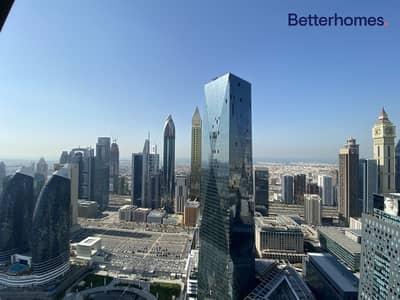 فلیٹ 1 غرفة نوم للبيع في مركز دبي المالي العالمي، دبي - High Floor   Amazing View Tenanted