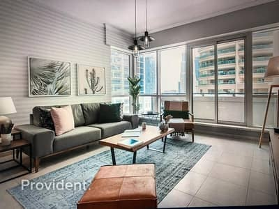 1 Bedroom Apartment for Sale in Dubai Marina, Dubai - Stylish Furnishings | Convenient Location