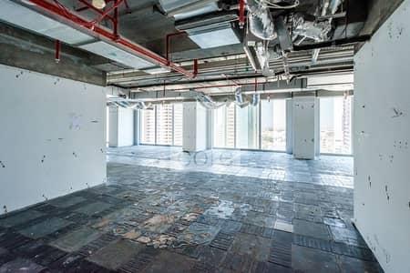 مکتب  للايجار في شارع الشيخ زايد، دبي - Vacant Semi Fitted Office | On Low Floor