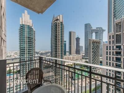 فلیٹ 1 غرفة نوم للبيع في وسط مدينة دبي، دبي - Furnished   Burj Khalifa and Skyline Views