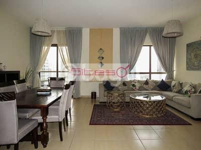 شقة 2 غرفة نوم للايجار في جميرا بيتش ريزيدنس، دبي - Fully furnished ready to move in apartment