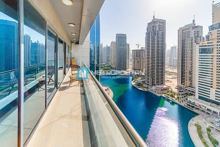 2 Bedroom Flat for Sale in Jumeirah Lake Towers (JLT), Dubai - Fully Upgraded I Rare Unit I Open Sunset View
