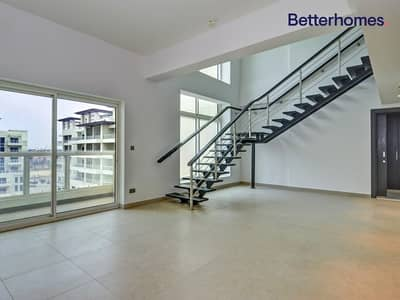 فلیٹ 3 غرف نوم للايجار في تلال الجميرا، دبي - Garden View| Duplex+Maid's| Unfurnished| Spacious