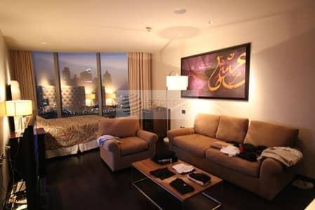 Studio for Rent in Downtown Dubai, Dubai - Fully Furnished Studio in Most Prestigious Address
