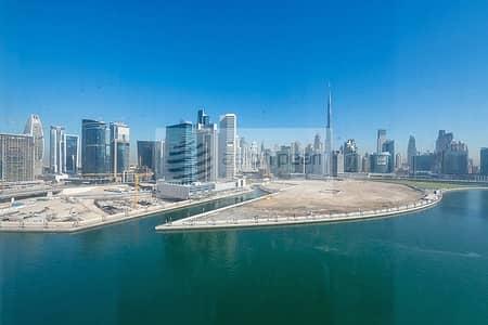 شقة 3 غرف نوم للايجار في الخليج التجاري، دبي - Burj And Canal View | A/C Free | 3 BR with Balcony