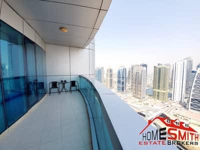 4 Bedroom Flat for Rent in Dubai Marina, Dubai - Semi Furnished High Floor Chiller Free in 125K