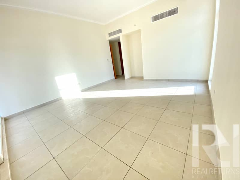 LARGE 2 BR + MAIDS UNFURNISHED NEAR TO METRO