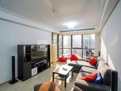 فلیٹ 1 غرفة نوم للايجار في أبراج بحيرات الجميرا، دبي - Fully Furnished 1BR | Next to the Metro
