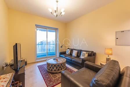 1 Bedroom Apartment for Rent in Jumeirah Lake Towers (JLT), Dubai - Fully Furnished 1br+Study Apartment