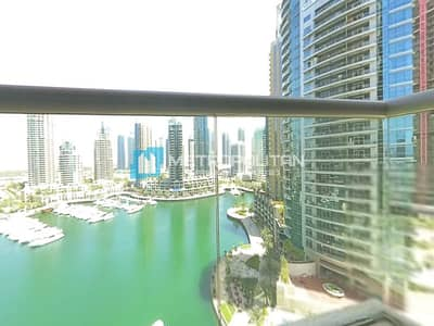 شقة 2 غرفة نوم للايجار في دبي مارينا، دبي - Fully Furnished I Marina View I 2 Parking Space