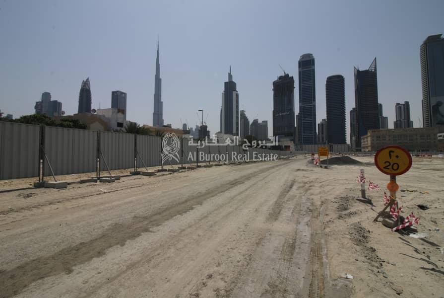 14 Freehold Villa Plot's at Al Wasl Next to City Walk