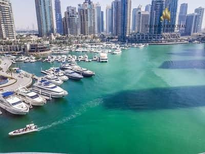 2 Bedroom Apartment for Rent in Dubai Marina, Dubai - Amazing Full Marina View