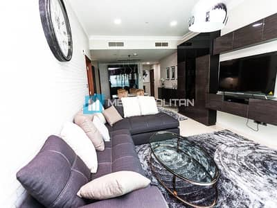 1 Bedroom Apartment for Rent in Dubai Marina, Dubai - Large 1 Bed I Cozy Furnished I  Ready to move in