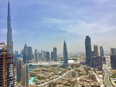 2 Bedroom Apartment for Rent in Business Bay, Dubai - New 2Bed+Maids/R | Partial Burj Khalifa View