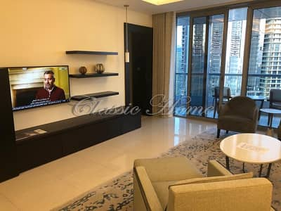 1 Bedroom Flat for Rent in Downtown Dubai, Dubai - Luxury 1 Bedroom/ Serviced Apartment/ Address Lake Hotel/Downtown