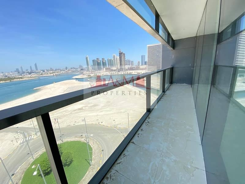 2 ONE MONTH FREE.: Brand New 2 Bedroom Apartment with Maids room and Balcony in RDK Tower for 152