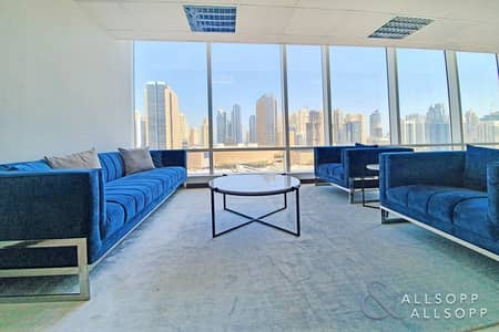 Office for Sale in Jumeirah Lake Towers (JLT), Dubai - Fitted | Elegant Furniture | Stunning Views