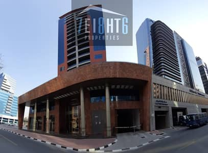 Brand new full building with 3 b/r apartments + gym + lift + Parking for remt in Deira