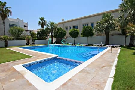 3 Bedroom Villa for Rent in Umm Suqeim, Dubai - Beautiful 3 Bed+M|Large Private Garden|Shared Pool