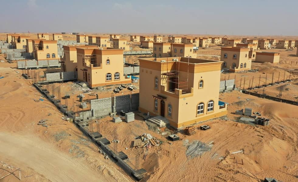 The land in Al Zahia area is owned by citizens and expats, at a price of 137,000