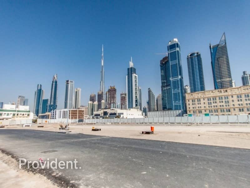 Corner G+1 Villa Plot in Al Wasl | Freehold