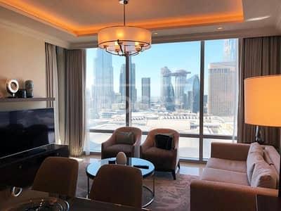 فلیٹ 1 غرفة نوم للبيع في وسط مدينة دبي، دبي - Fully Furnished | 1-Bed | Burj Khalifa View