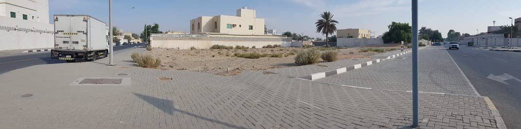Residential land for sale in Al-Abar / Helwan Suburb, Emirate of Sharjah, at a good price