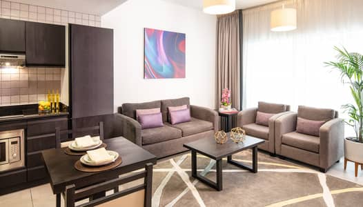 1 Bedroom Flat for Rent in Barsha Heights (Tecom), Dubai - 1-Bedroom Fully Furnished with storage facility & free moving service