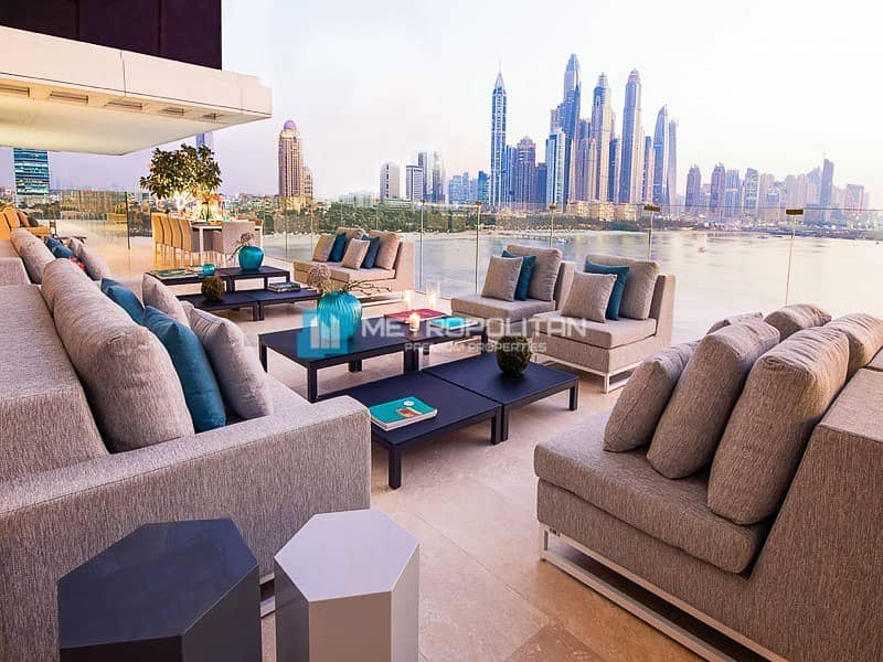 2 4 BR full Sea View with 2 balconies in One Palm