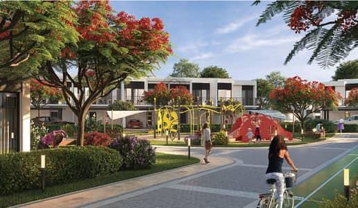 تاون هاوس 4 غرف نوم للبيع في تلال الغاف، دبي - Crystal Lagoon Community | 6 years  plan | Hessa Street