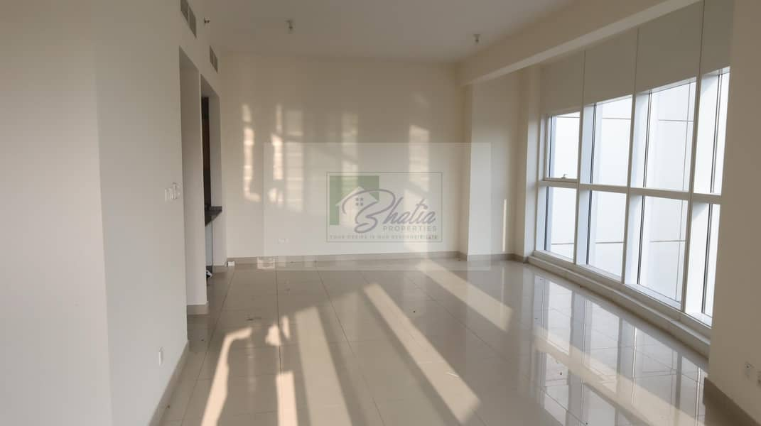 No Commission: Bright 3 BR with Maid'sroom & Balcony