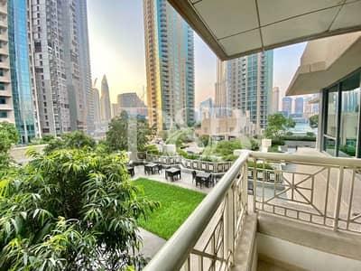 شقة 2 غرفة نوم للايجار في وسط مدينة دبي، دبي - Pool View Best Price Well Maintained & Brigh