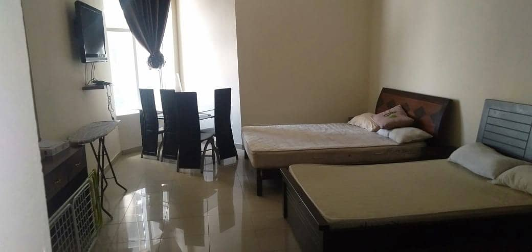 شقة في برج هورايزون A أبراج الهورايزون عجمان وسط المدينة 18000 درهم - 4649274