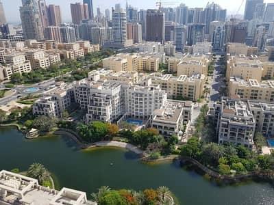 فلیٹ 1 غرفة نوم للايجار في ذا فيوز، دبي - Large layout | 1 Bedroom on High Floor| Canal View