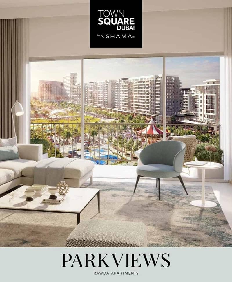 2 888 and Move in & Rest 90% in 5 Years Post Handover - Ready-to-Move-in 2 BR apartment in Dubai