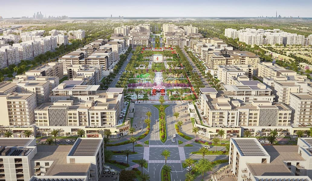 14 888 and Move in & Rest 90% in 5 Years Post Handover - Ready-to-Move-in 2 BR apartment in Dubai