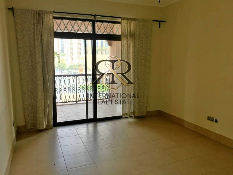 Spacious 1 Bedroom Apartment with balcony | Well Maintained