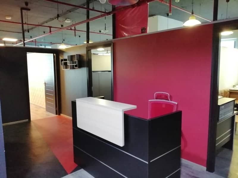 2 Spacious Fitted Office with reasonable cost