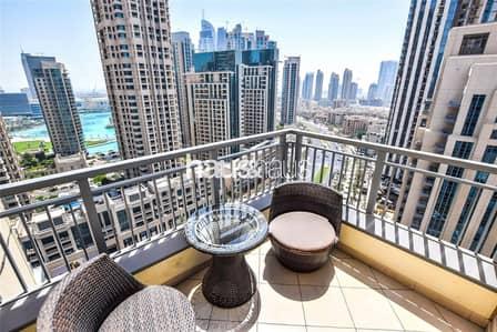 شقة 2 غرفة نوم للبيع في وسط مدينة دبي، دبي - High Floor | Fantastic Finish | Corner Unit