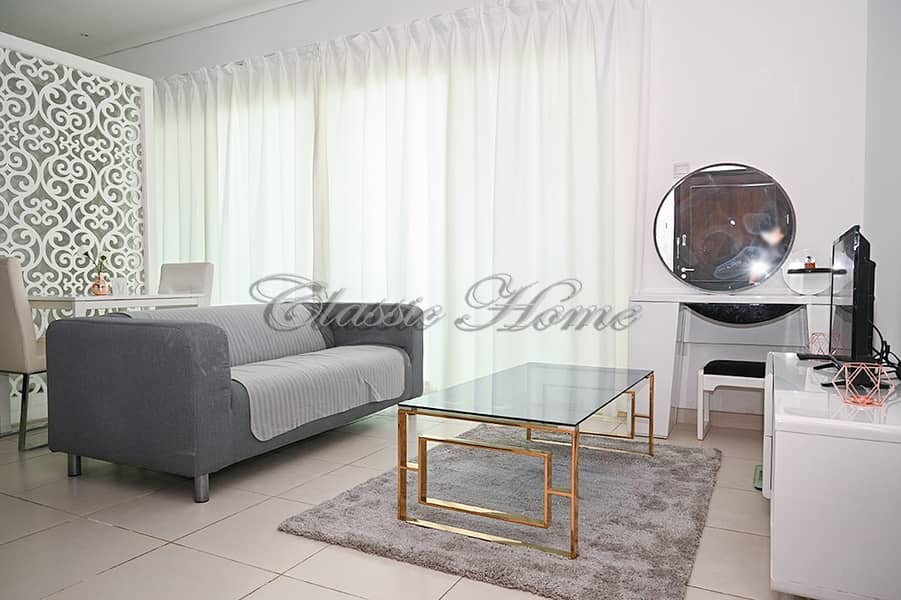 2 Fully Furnished Studio Apartment/ Royal Oceanic 1 with Beautiful Marina View