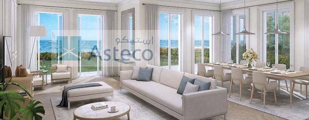 Luxury Villa |  La Mer | Dubai Skyline View