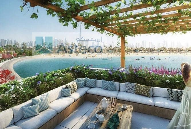 2 Luxury Villa |  La Mer | Dubai Skyline View