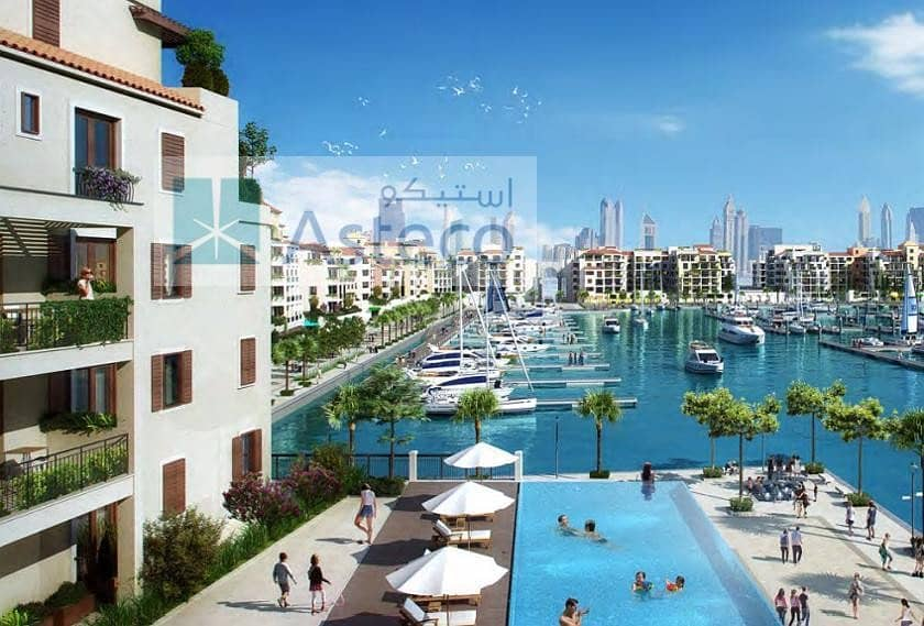 14 Luxury Villa |  La Mer | Dubai Skyline View