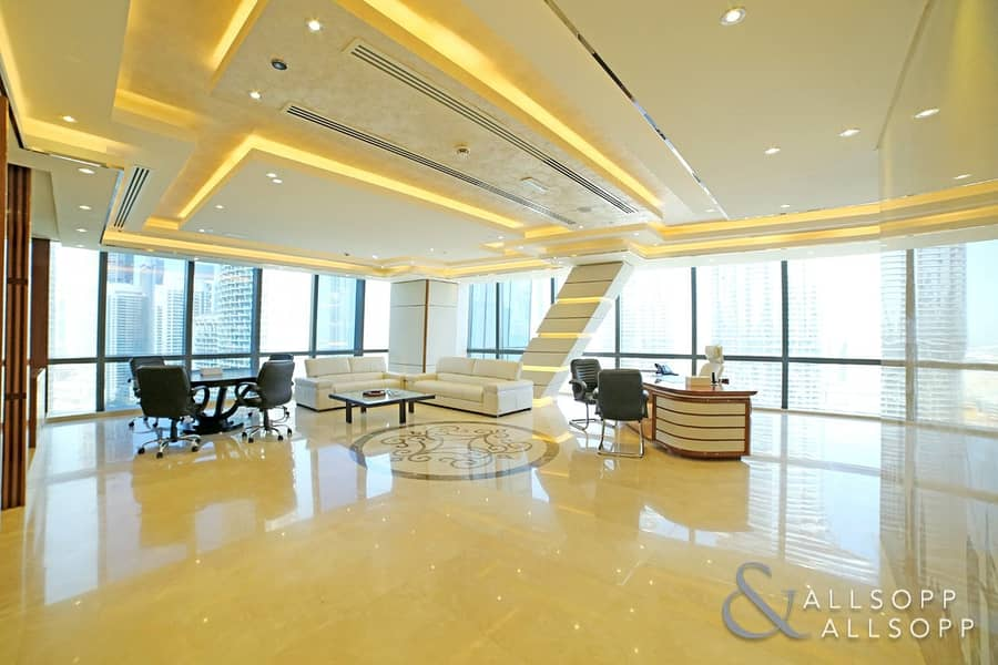 Burj Views | Furnished Office | 7 Parkings